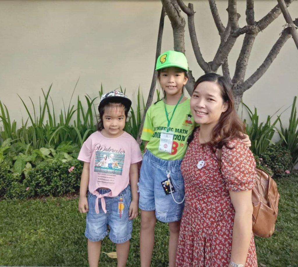 Phụ huynh học viên Đào Nguyễn Ái Vân