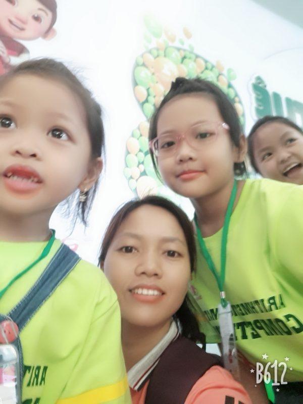 Phụ huynh học viên Mạc Phương Anh & Mạc Phương Thảo My