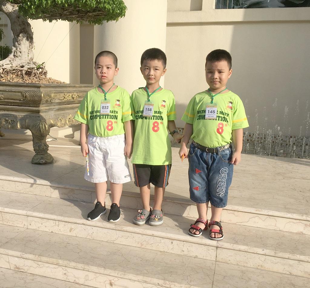 Phụ huynh học viên Nguyễn Bảo Minh Long