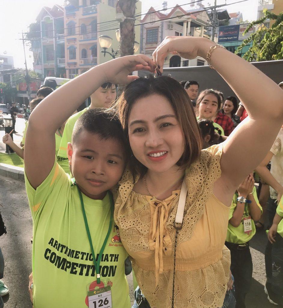 Phụ huynh học viên Nguyễn Huỳnh Bảo Minh