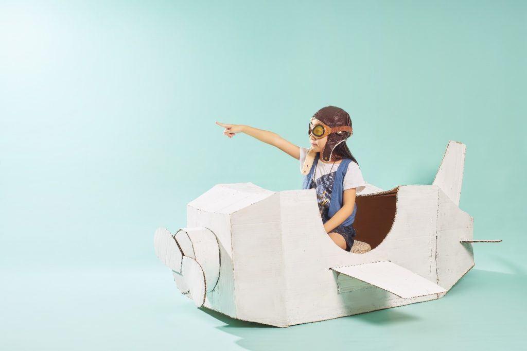 Bí quyết giúp gia tăng khả năng tưởng tượng của trẻ