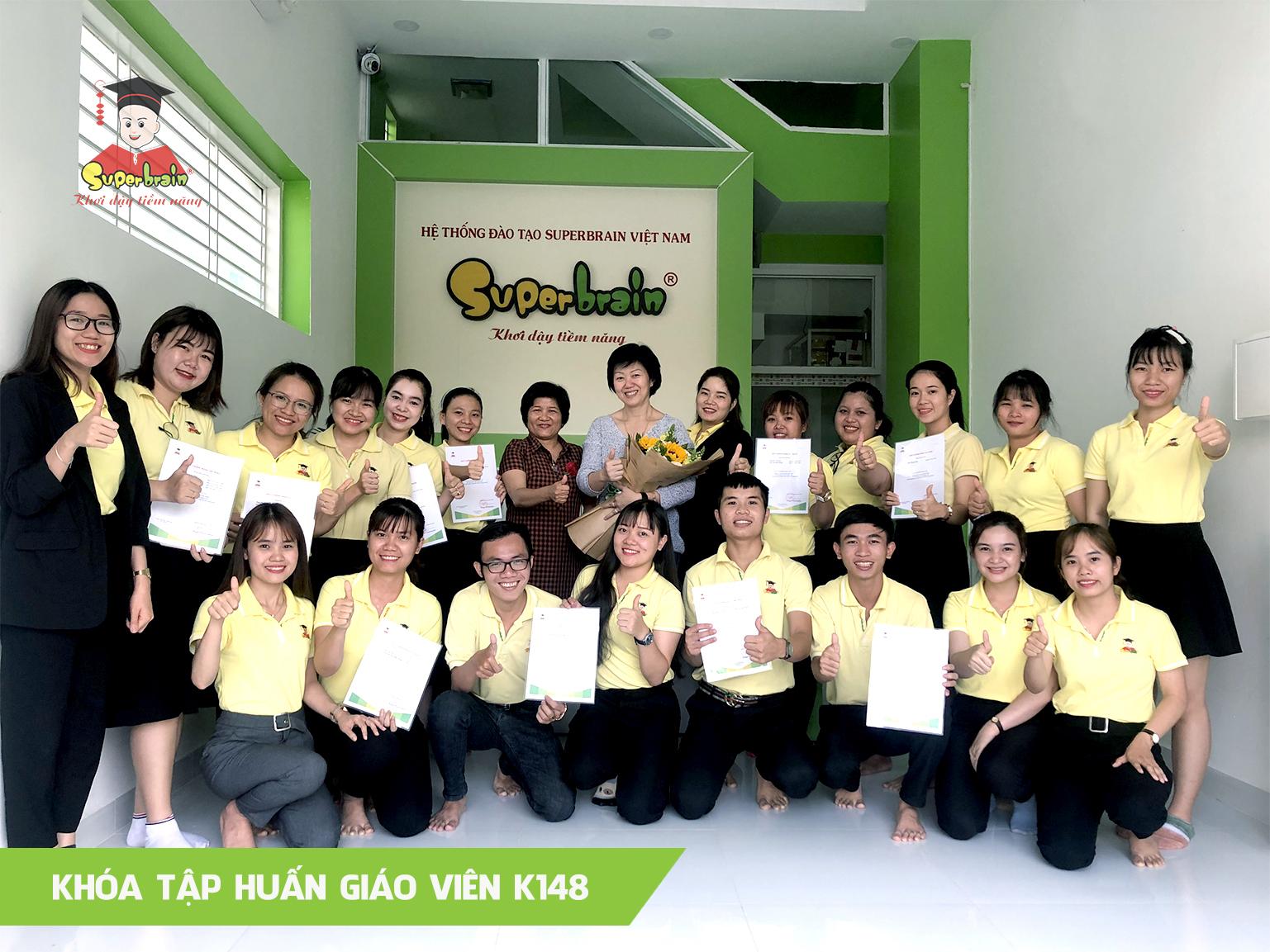 Toán trí tuệ Superbrain - Khóa tập huấn giáo viên K148