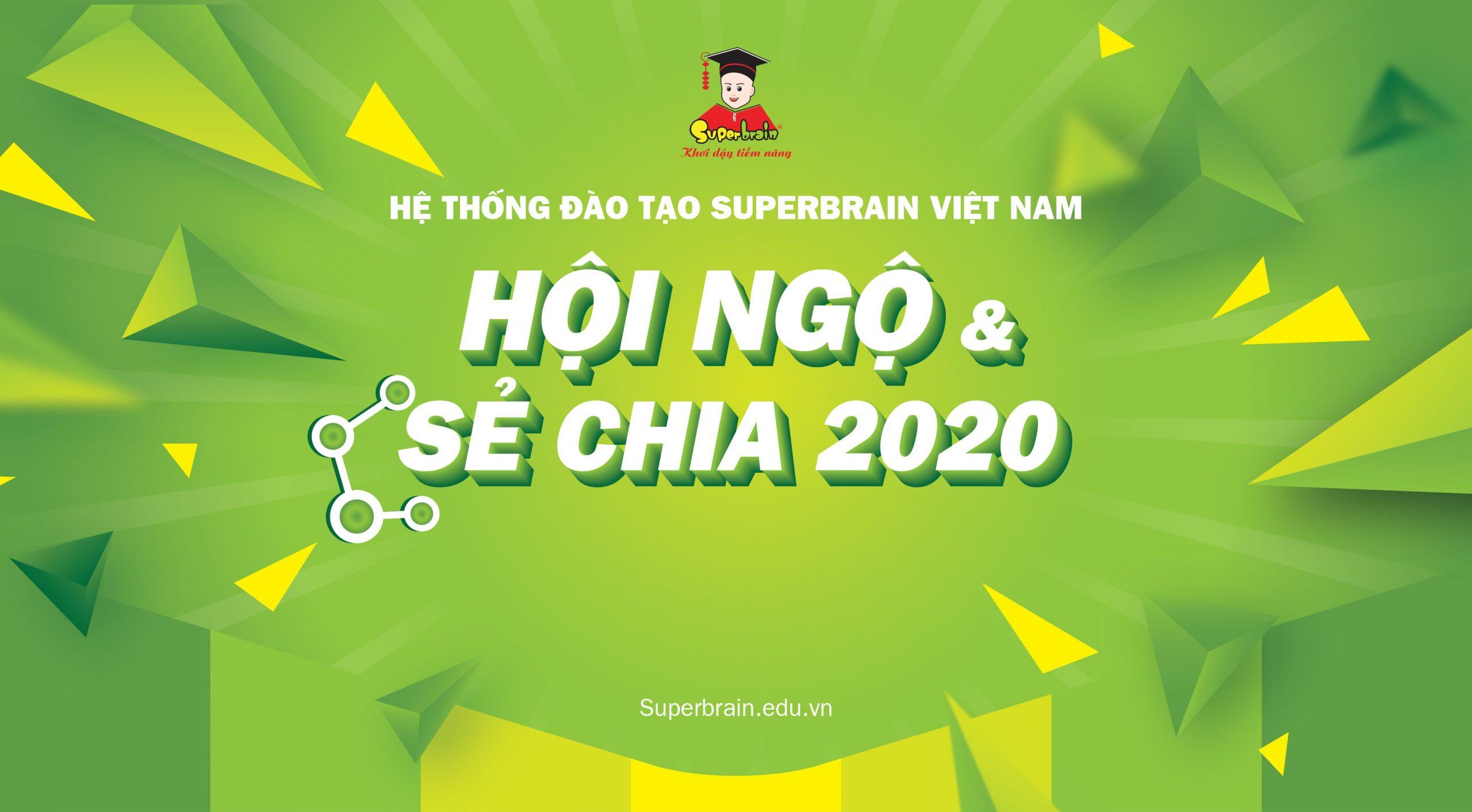 """CUỘC HỌP THƯỜNG NIÊN SUPERBRAIN – """"HỘI NGỘ & SẺ CHIA 2020"""""""