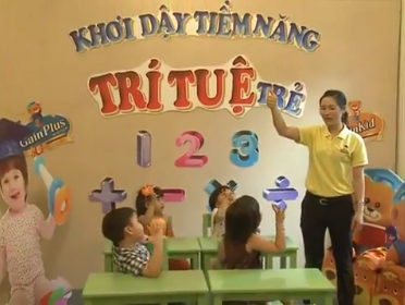 Phim tư liệu Bé IQ tuần 5 - bé học toán