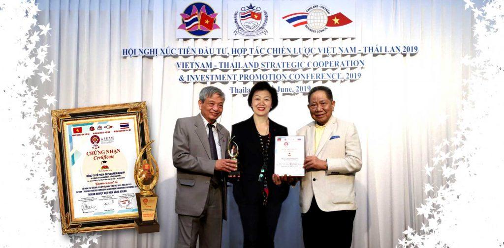 """SUPERBRAIN VINH DỰ ĐÓN NHẬN DANH HIỆU """"DOANH NGHIỆP VÀNG ASEAN 2019"""""""